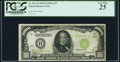 Small Size:Federal Reserve Notes, Fr. 2211-B $1,000 1934 Light Green Seal Federal Reserve Note. PCGS Very Fine 25.. ...