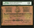 World Currency, Mauritius Government of Mauritius 10 Rupees 7.8.1900 Pick 14 PMG Fine 12.. ...