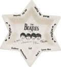 Music Memorabilia:Memorabilia, The Beatles Star Shaped Decorative Bowl (Arthur Wood, England). ...
