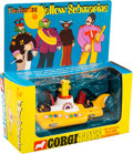 Music Memorabilia:Memorabilia, The Beatles Vintage Yellow Submarine Corgi Diecast Scale Model Toy #803, in Original Box (UK, 1968). ...