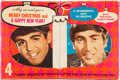Music Memorabilia:Memorabilia, The Beatles Merry Christmas and A Happy New Year Photo Gift Box (Canada,1960's). ...