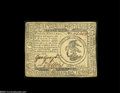 Colonial Notes:Continental Congress Issues, Continental Congress Issue February 17, 1776 $3 Very Fine-ExtremelyFine....
