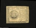 Colonial Notes:Continental Congress Issues, Continental Congress Issue September 26, 1778 $50 ExtremelyFine-About New....
