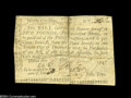 Colonial Notes:North Carolina, North Carolina December 15, 1757 $5 Very Fine....