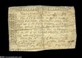 Colonial Notes:North Carolina, North Carolina November 21, 1757 $5 Very Fine....