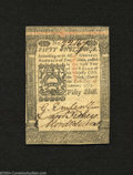 Colonial Notes:Pennsylvania, Pennsylvania October 1, 1773 50s Extremely Fine-About New....