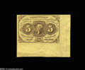 Fractional Currency:First Issue, Fr. 1230 5c First Issue About New....