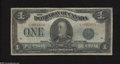 Canadian Currency: , DC-25d $1 1923...
