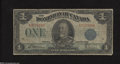 Canadian Currency: , DC-25h $1 1923...