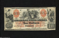 Confederate Notes:1861 Issues, T22 $10 1861....