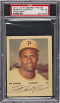 Baseball Cards:Singles (1970-Now), 1971 Pittsburgh Pirates (Autograph Cards) Roberto Clemente #21 PSA VG-EX 4. ...