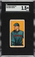 Baseball Cards:Singles (Pre-1930), 1909-11 T206 Drum Harry Gasper SGC FR 1.5 - Only Two SGC & PSA Graded Examples!...
