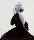 Photographs, Bert Stern (American, 1929-2013). Marilyn in the Dior Dress, 1962. Digital pigment print, 2013. 12 x 10-1/8 inches (30.5...