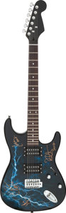 Musical Instruments:Electric Guitars, Metallica Signed and Inscribed Electric Guitar. ...
