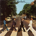 Music Memorabilia:Recordings, The Beatles - Paul McCartney Signed Abbey Road Album. ...