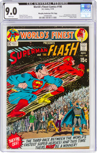 World's Finest Comics #198 Murphy Anderson File Copy (DC, 1970) CGC VF/NM 9.0 White pages