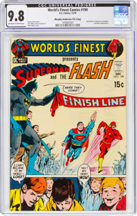 World's Finest Comics #199 Murphy Anderson File Copy (DC, 1970) CGC NM/MT 9.8 Off-white to white pages
