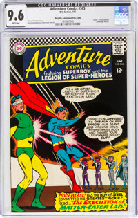 Adventure Comics #345 Murphy Anderson File Copy (DC, 1966) CGC NM+ 9.6 White pages