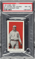 "Baseball Cards:Singles (Pre-1930), 1910 E98 ""Set of 30"" Cy Young (Red) PSA NM-MT 8 - Black Swamp Find. ..."
