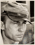 Movie/TV Memorabilia:Autographs and Signed Items, Nick Adams Signed and Inscribed Photo. . ...