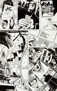 Brian Bolland Batman: The Killing Joke Story Page 11 Original Art (DC, 1988)