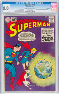 Silver Age (1956-1969):Superhero, Superman #144 Savannah Pedigree (DC, 1961) CGC VF 8.0 Cream to off-white pages....