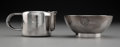 Silver & Vertu, Christofle SS Normandie Silver-Plated Sugar and Creamer, circa 1935. Marks to creamer: (O-scales-C), CHRISTOFL... (Total: 2 Items)