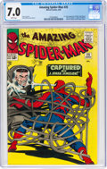 Silver Age (1956-1969):Superhero, The Amazing Spider-Man #25 (Marvel, 1965) CGC FN/VF 7.0 White pages....