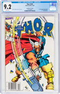Memorabilia:Superhero, Thor #337 Canadian Price Variant (Marvel, 1983) CGC NM- 9.2 White pages....