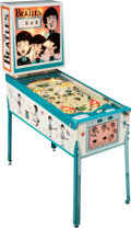 Music Memorabilia:Memorabilia, The Beatles Cartoon Pinball Machine. Rare and Limited. ...
