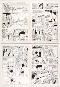 Murphy Anderson Jonny Quest #9 Complete 26-Page Story Original Art Complete Story (Comico, 1987).... (Total: 26 Original...