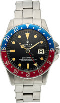 Timepieces:Wristwatch, Rolex, Oyster Perpetual GMT-Master, Ref. 1675, Full Documentation, Circa 1960. ...