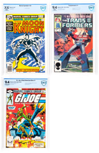Marvel Bronze and Modern Age Comics CBCS-Graded Group of 3 (Marvel, 1976-84).... (Total: 3 Comic Books)