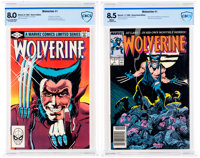 Wolverine #1 CBCS-Graded Group of 2 (Marvel, 1982-88).... (Total: 2 Comic Books)