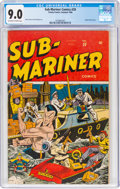 Golden Age (1938-1955):Superhero, Sub-Mariner Comics #20 (Timely, 1946) CGC VF/NM 9.0 Off-white to white pages....