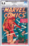 Golden Age (1938-1955):Superhero, Marvel Comics #1 Windy City pedigree (Timely, 1939) CGC NM 9.4 Off-white pages....