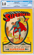 Superman #1 (DC, 1939) CGC GD 2.0 Cream to off-white pages