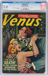 Venus #19 (Timely, 1952) CGC GD 2.0 Off-white to white pages