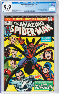 The Amazing Spider-Man #135 (Marvel, 1974) CGC MT 9.9 White pages