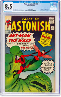 Tales to Astonish #44 (Marvel, 1963) CGC VF+ 8.5 Off-white to white pages