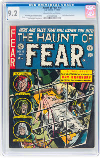 Haunt of Fear #16 (EC, 1952) CGC NM- 9.2 Cream to off-white pages