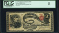 Mount Pleasant, OH - $2 Original Fr. 387 The First National Bank Ch. # 492 PCGS Fine 15