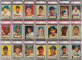 Baseball Cards:Sets, 1952 Topps Baseball PSA Graded Complete Set (407) With Mantle PSA EX+ 5.5....