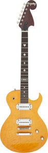 Musical Instruments:Electric Guitars, Circa 2007 Bigsby BY-48N Amber Solid Body Electric Guitar, Serial # 01000 BY-75.. ...