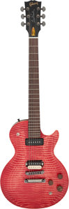 Musical Instruments:Electric Guitars, Circa 2007 Les Paul Signed Gibson BFG Les Paul Translucent Cherry Solid Body Electric Guitar, Serial # 1992 F.. ...