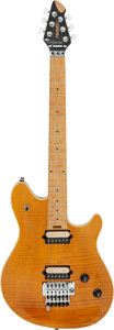 Musical Instruments:Electric Guitars, 1999 Peavey EVH Wolfgang Amber Solid Body Electric Guitar, Serial # 91010245.. ...