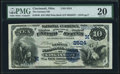 National Bank Notes:Ohio, Cincinnati, OH - $10 1882 Date Back Fr. 545 The German National Bank Ch. # (M)2524 PMG Very Fine 20.. ...