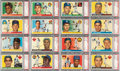 Baseball Cards:Sets, 1955 Topps Baseball PSA Graded Complete Set (206), With No Card Graded Below PSA NM 7....