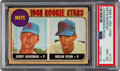 Baseball Cards:Singles (1960-1969), 1968 O-Pee-Chee Nolan Ryan - Mets Rookies #177 PSA NM-MT 8 - None Higher....