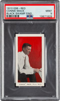 "Baseball Cards:Singles (Pre-1930), 1910 E98 ""Set of 30"" Connie Mack (Red) PSA Mint 9 - Black Swamp Find. ..."